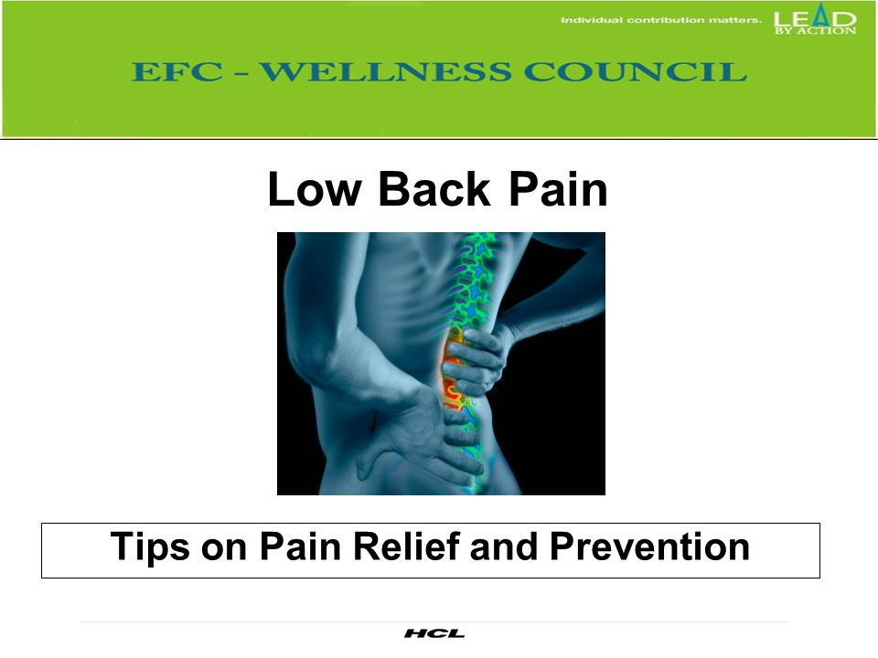 Tips on Pain Relief and Prevention