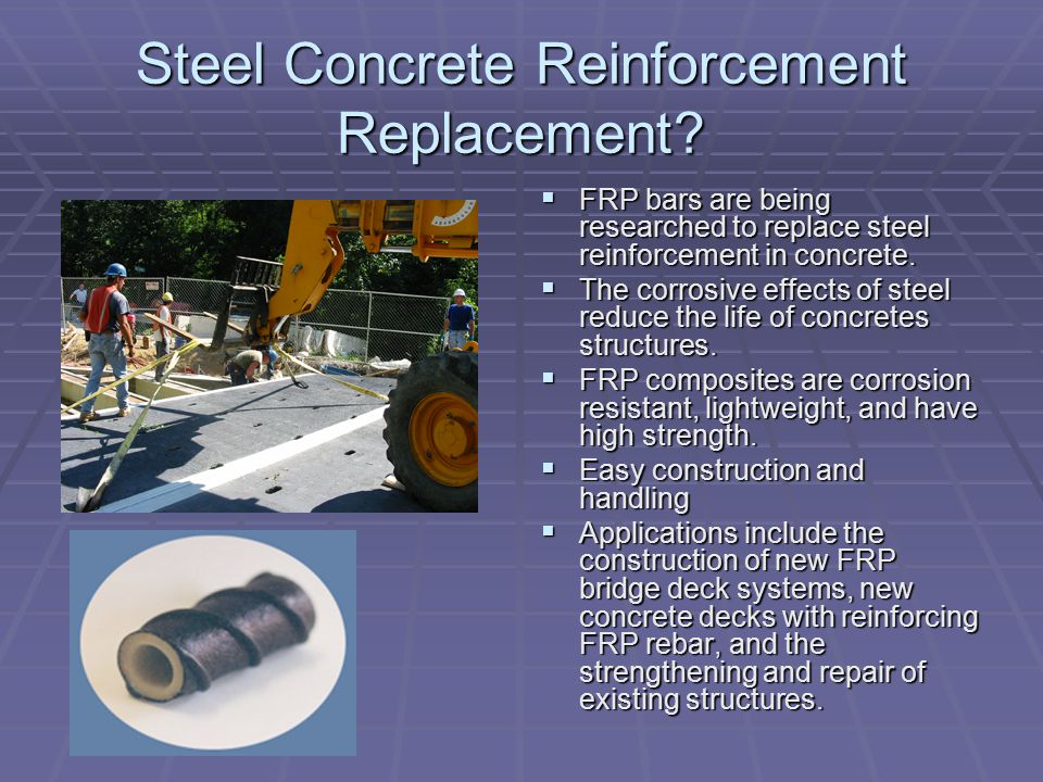 Steel Concrete Reinforcement Replacement