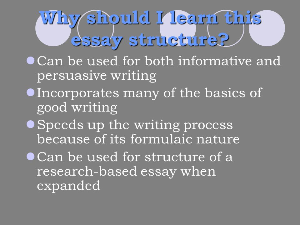 basics of writing a good essay A good introduction in an argumentative essay acts like a good opening statement in a trial just like a lawyer, a writer must present the.