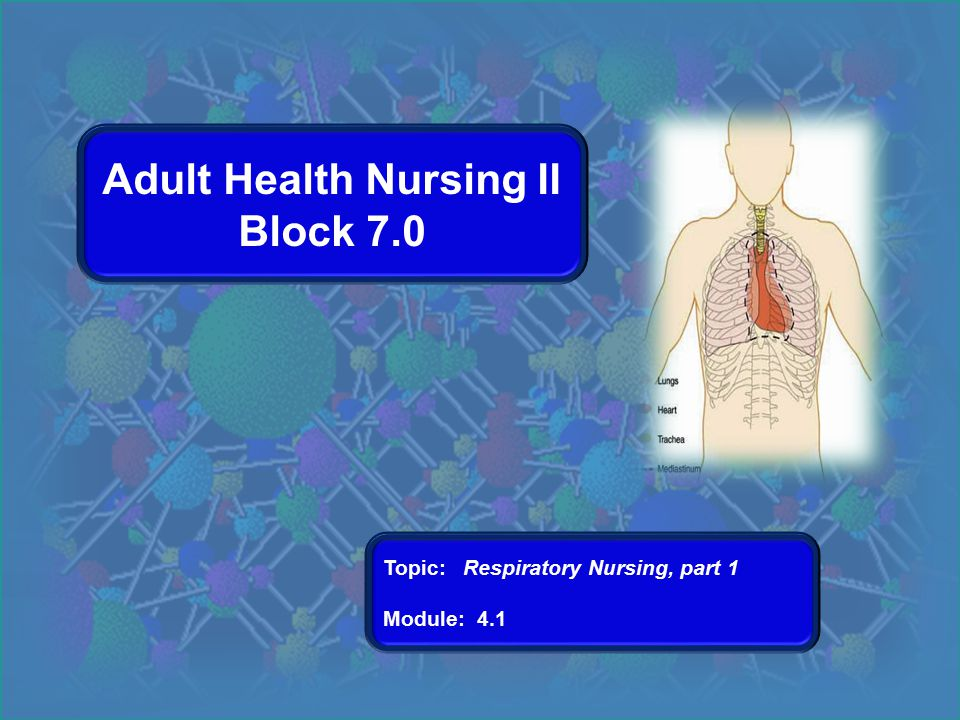 Adult Health Nursing 15