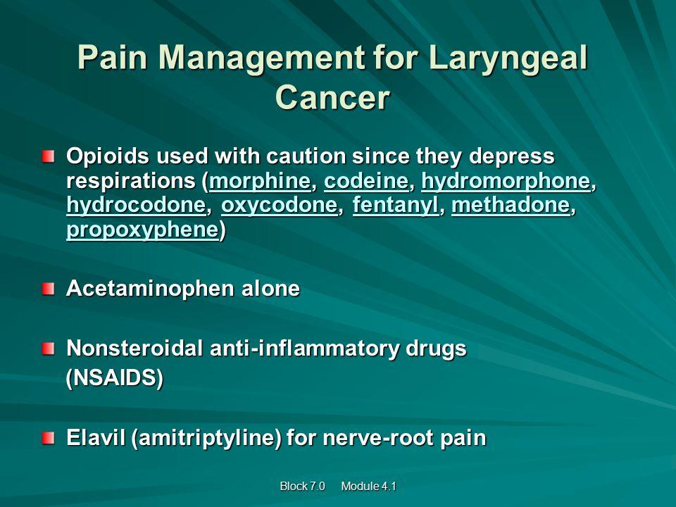 Elavil For Pain Control