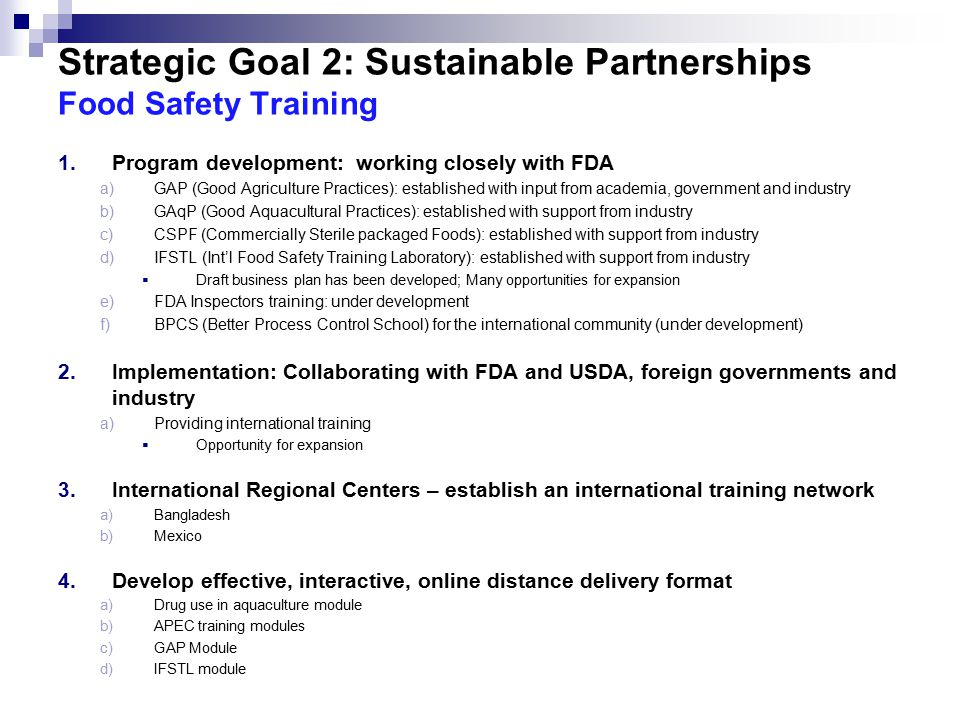 food safety and sustainable development essay Read this full essay on sustainable food production  it implies the ability to  sustain growth of food production to meet the demand for food in the future   threatening to drop below the level needed to provide minimal levels of food  security.