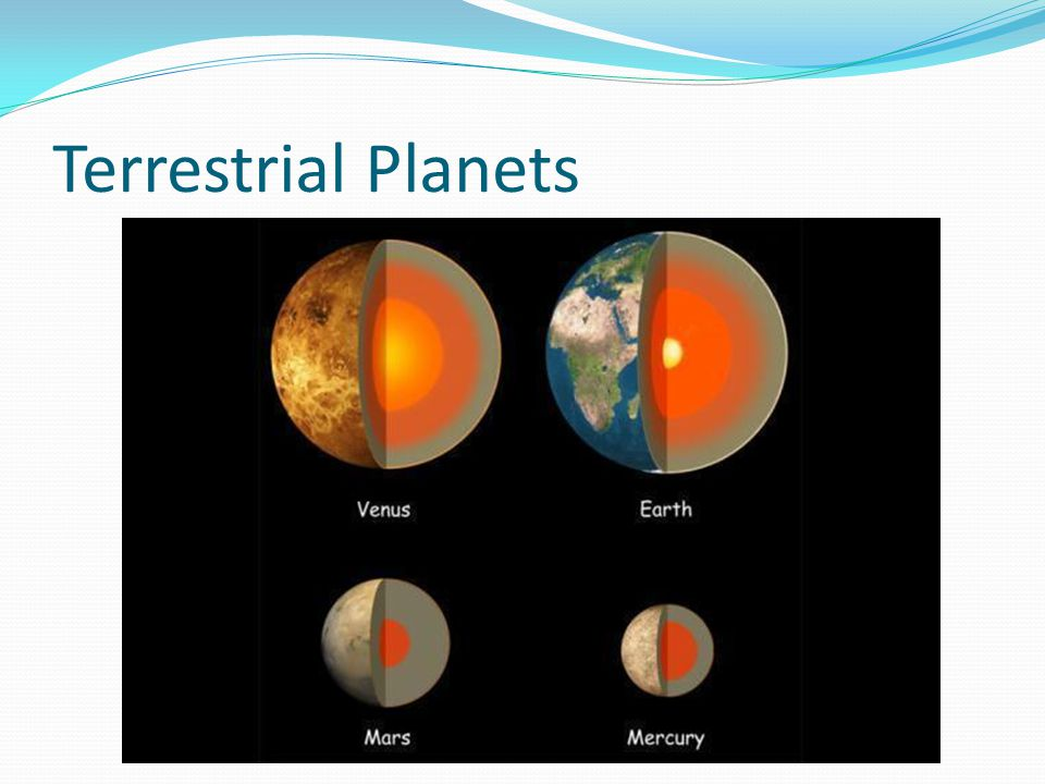 which planets are terrestrial - photo #17