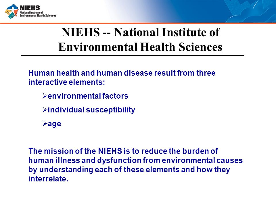 national institute of environmental health