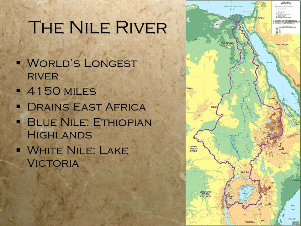 Worlds Longest River Map Picture Ideas References - Longest river in us