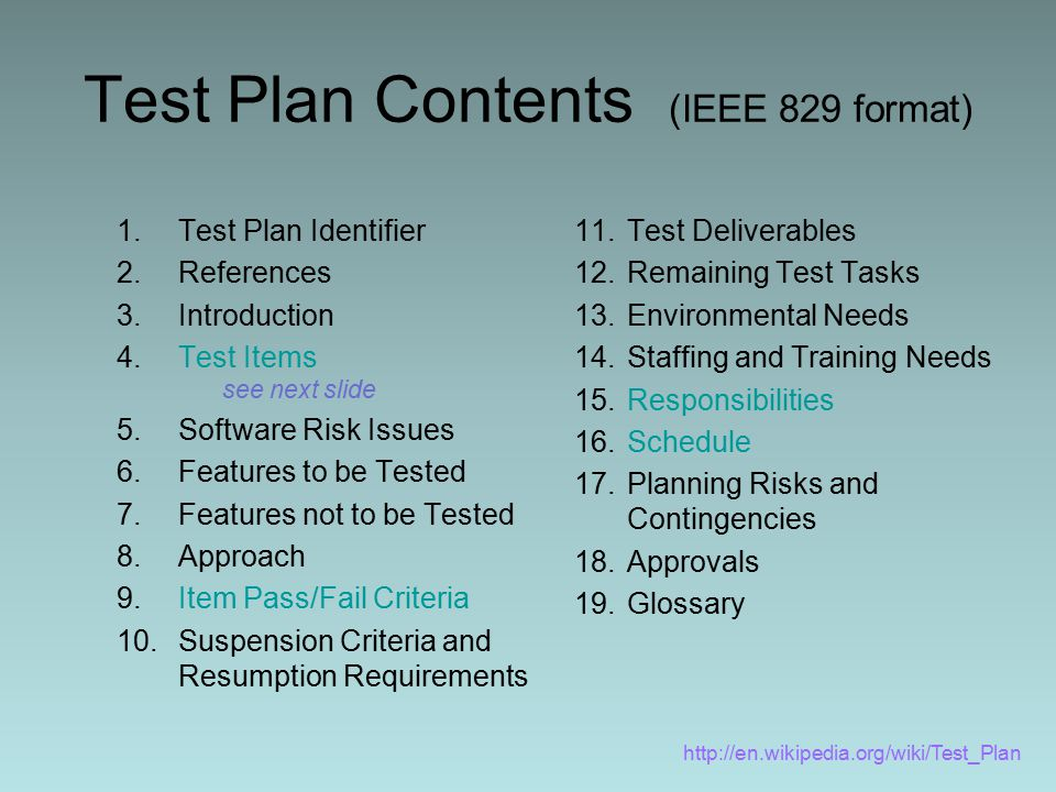 ieee 829 test strategy template - software testing and validation sqa swe ppt video online