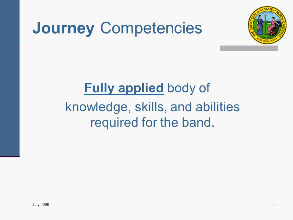 Prerequisite skills and knowledge