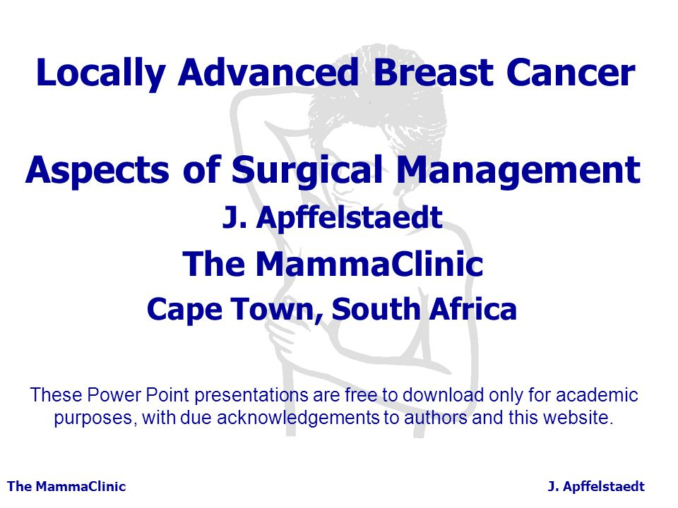 Locally Advanced Breast Cancer