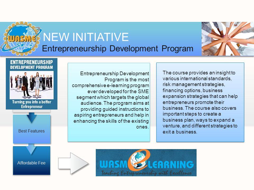 entrepreneurship development program Entrepreneurship development program to be an effective entrepreneur we develop and motivate entrepreneurial talent entrepreneurship development and employment .