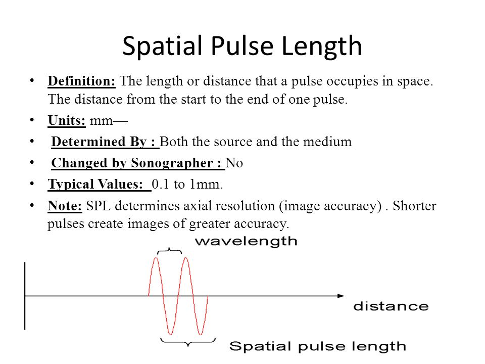 Ultrasound physics by dr dina metwaly ppt video online for Definition of space in a relationship