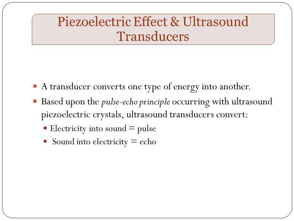 sound waves and ultrasound