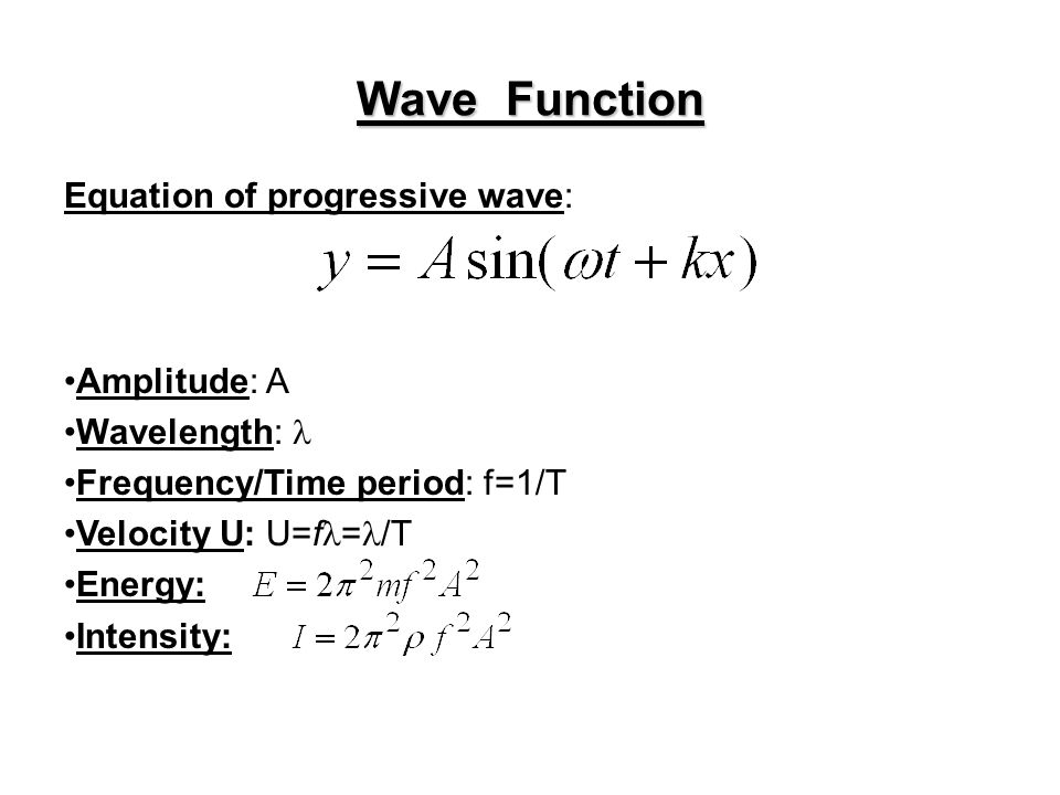 Fundamentals of Ultrasonics - ppt download