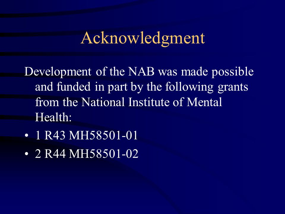 an introduction to the national institute of mental health nimh Jane pearson of national institute of mental health (nimh), bethesda nimh with expertise in clinical psychology read 95 publications, and contact jane pearson on.