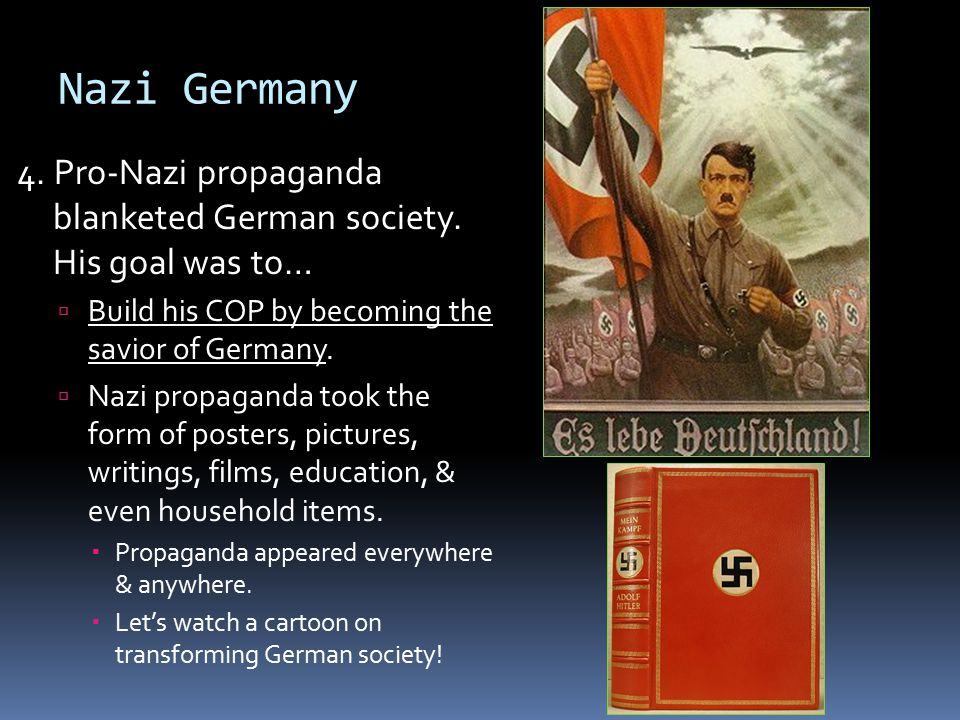 The Transformation of Germany into the New Nazi Order - ppt video ...