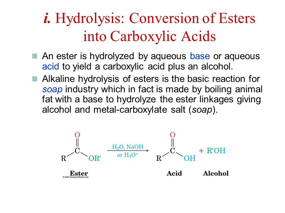 carboxylic compounds acyl group bonded to y an