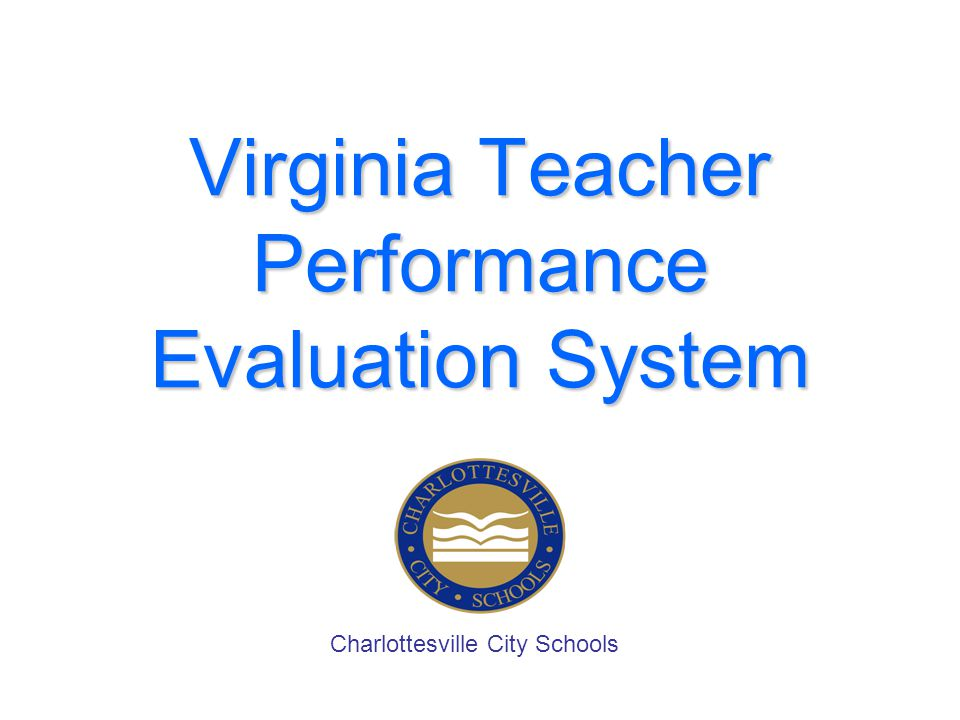Virginia Teacher Performance Evaluation System