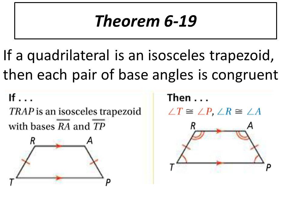 Isosceles Trapezoid Base Angles 6-6 Trapezoids and Kit...