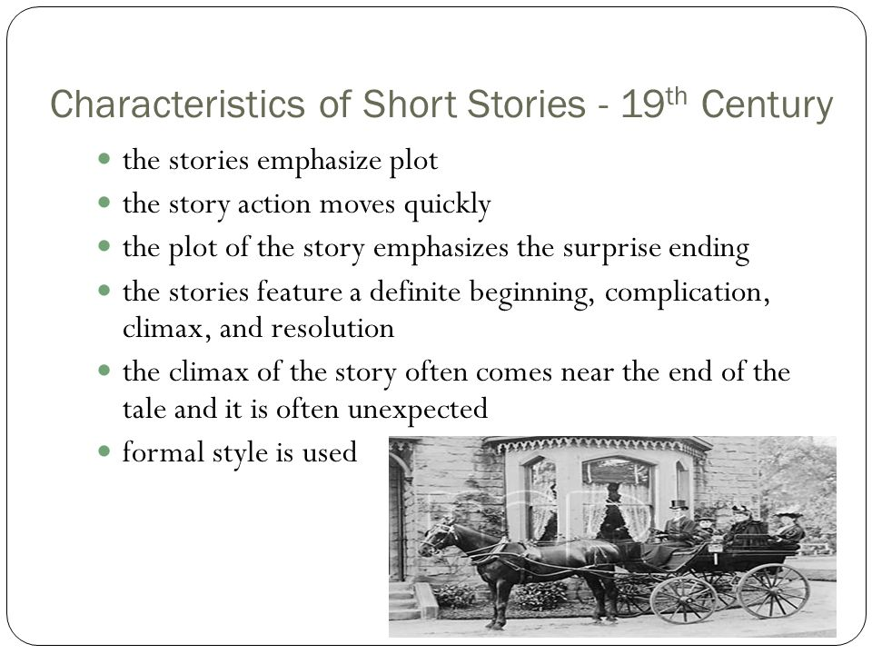 short story terms elements of fiction ppt video online  characteristics of short stories 19th century
