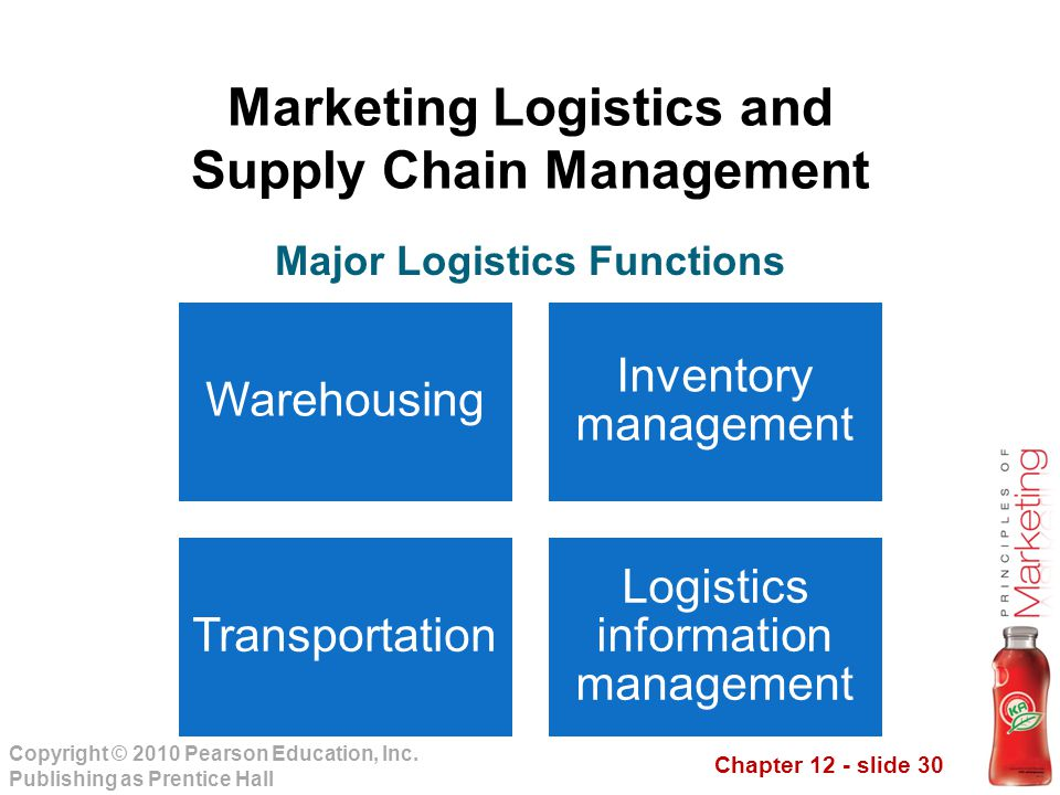 Logistics and supply chains