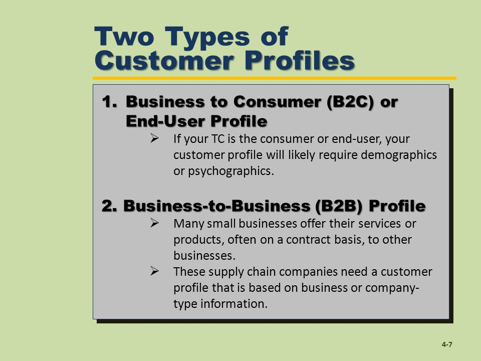 Profiling Your Target Customer  Ppt Video Online Download