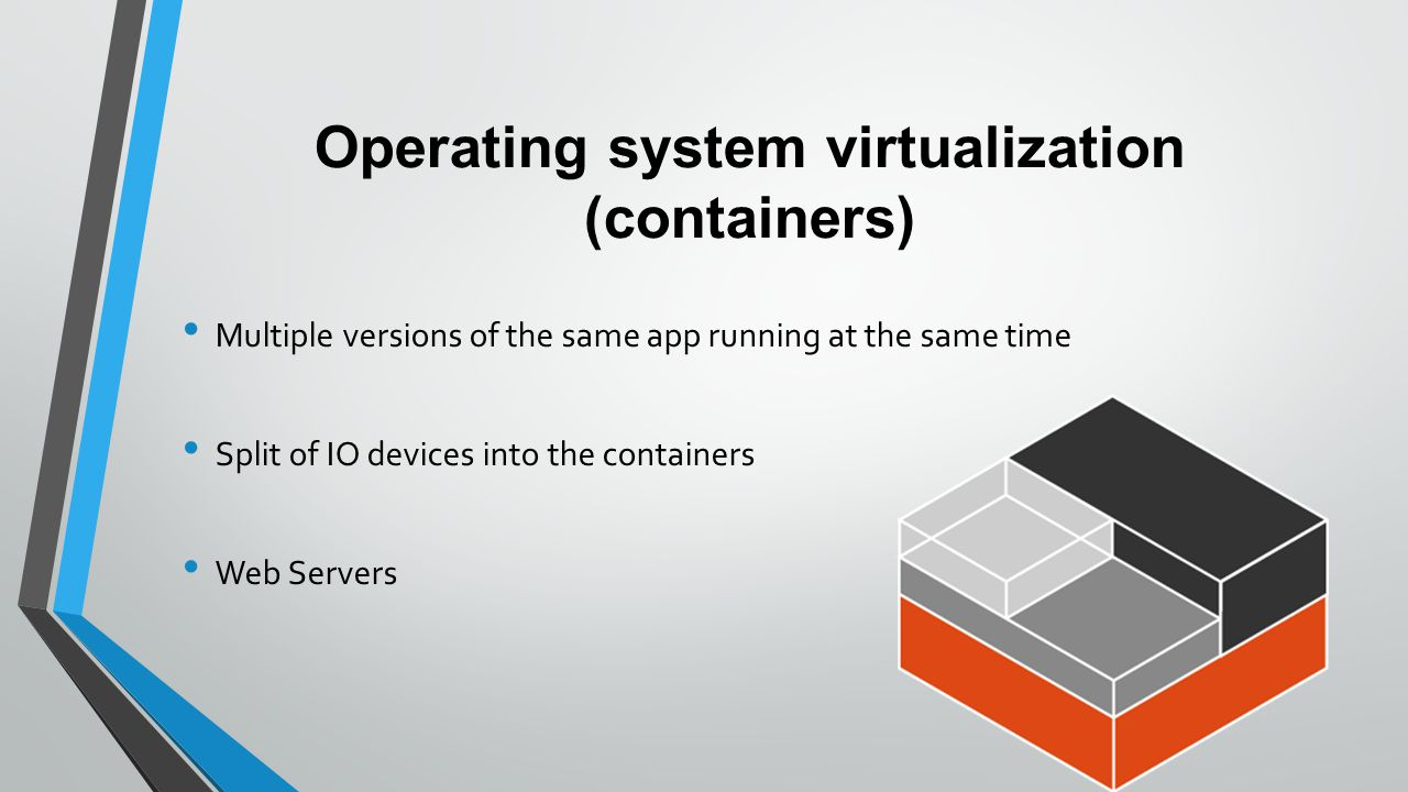 operating system virtualization 04-10-2014 watch video host is the computer and operating system running the virtualization platform (in this case hyper-v in windows 10 host) to host your virtual machines (guests) - guest or guest system, guest vm a virtual machine, a guest operating system installed on a vm and stored on a virtual hard disk (vhd.
