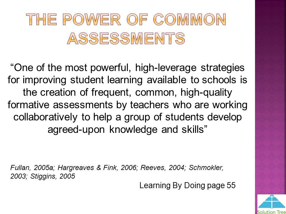 Assessment essay quality stiggins