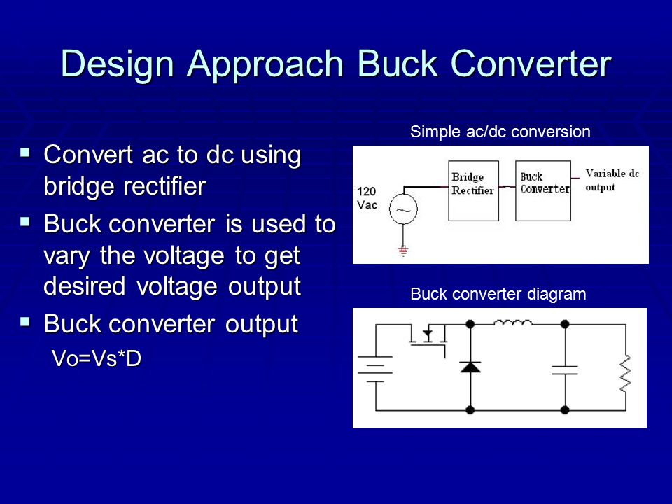 how buck converter works