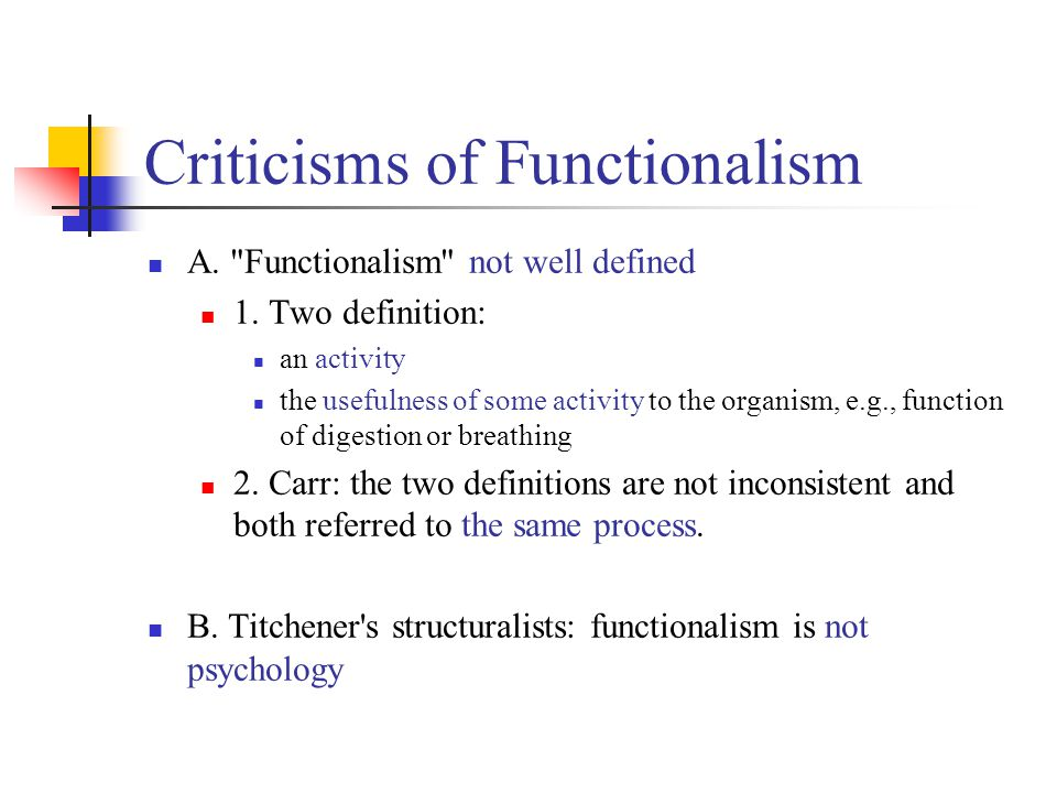 Chapter 7 Functionalism: Development and Founding - ppt ...