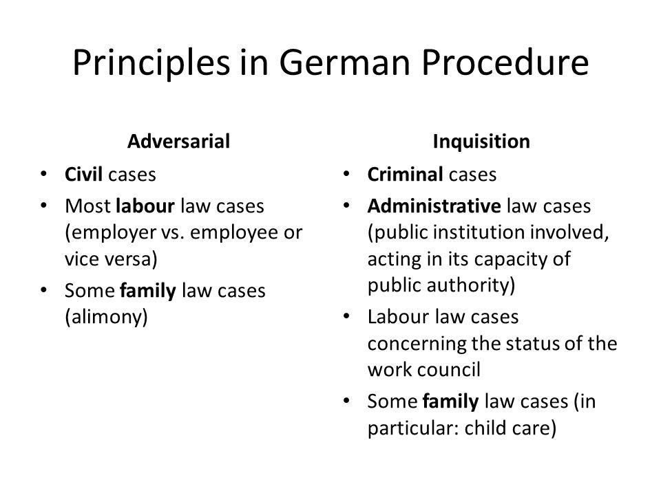 adversarial system vs civil law Legal systems - adversarial vs inquisitorial erika nizol  legal system basics:  civil law vs criminal law - duration: .