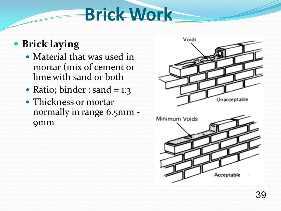 Mortar Mix Ratio : History types manufacturing and properties ppt download
