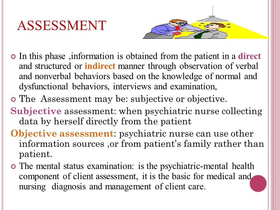 Client care vrq assessment