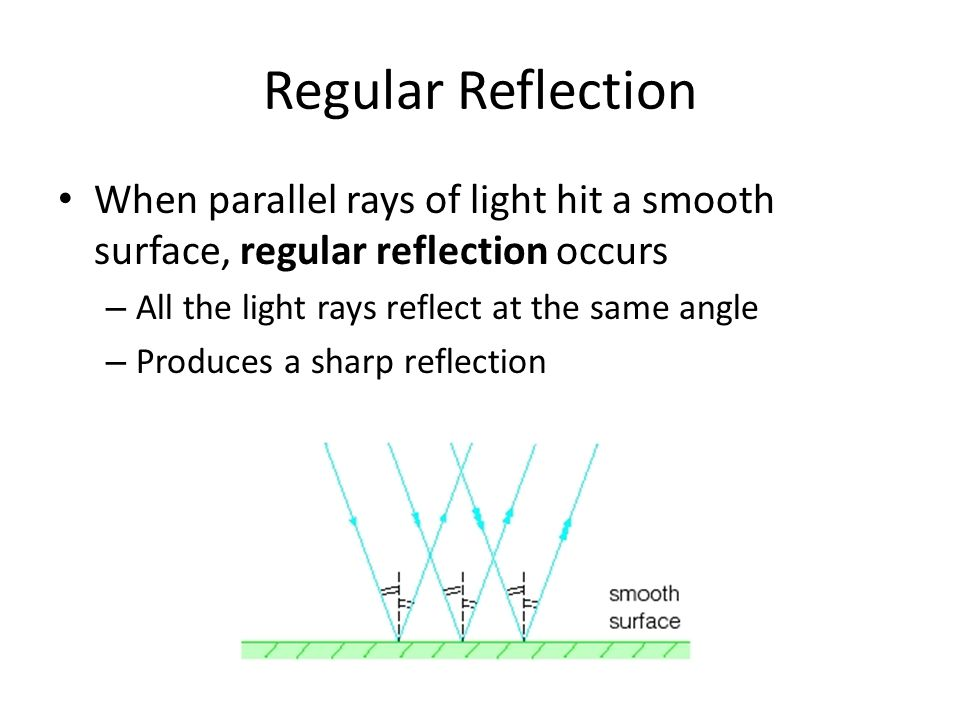 18.2 Reflection and Mirrors - ppt download