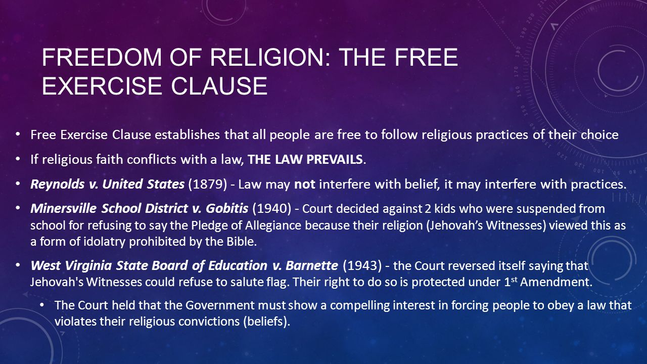 religion in education the pledge of Am i legally permitted to sit out the pledge of allegiance, or the singing of the star -spangled banner  is it legal for my teacher to talk about religion in class.