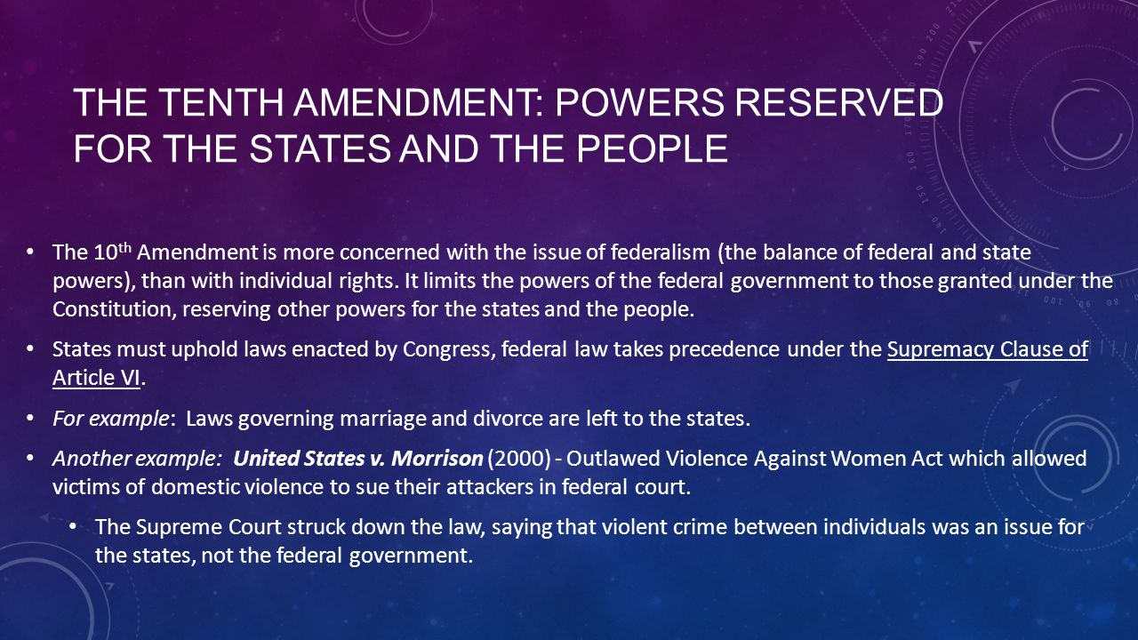 Rights Reserved To States Or People Chapter 5 - The bill o...