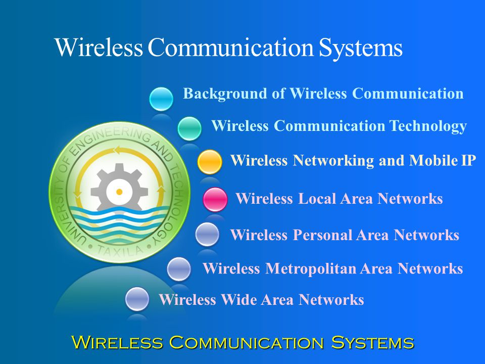 Wireless Communication Systems - ppt video online download