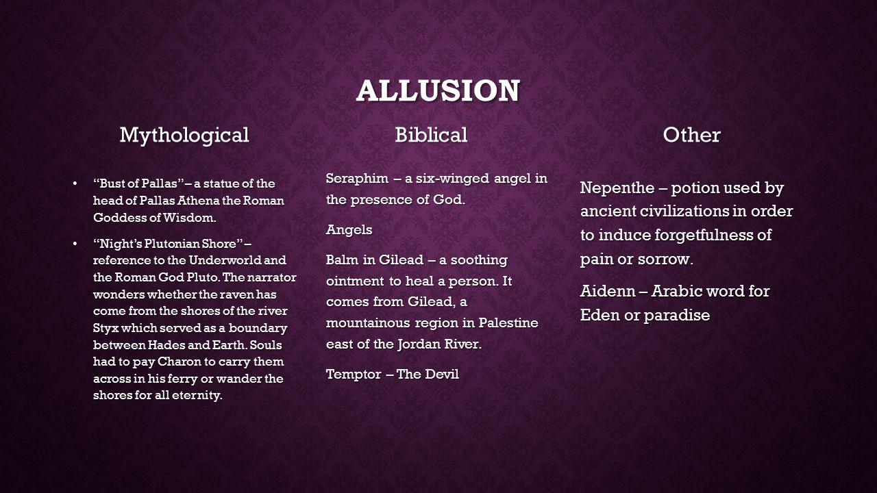 The Raven Symbols And Allusions Custom Paper Academic Service