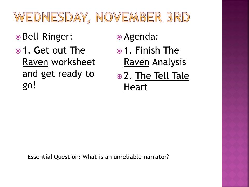 Friday November 1st Bell Ringer Ppt Video Online Download