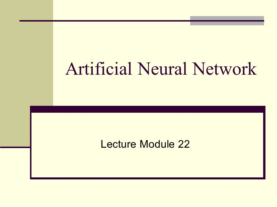 paper presentation on artificial intelligence and neural networks