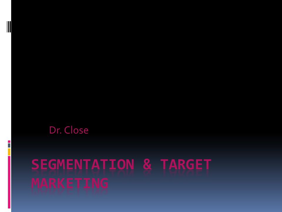 segmentation and target Segmentation, targeting and positioning (stp)  marriott international® owns a number of different hotel chains that target  segmentation and targeting our.