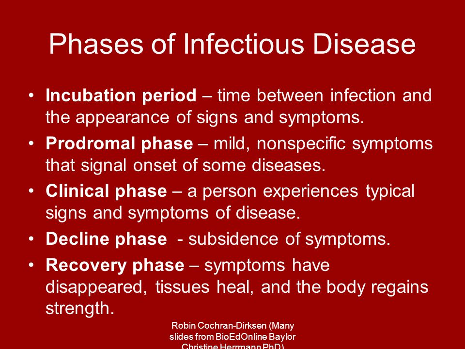 classification of infectious diseases pdf