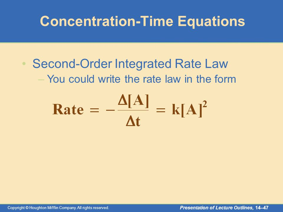 integrated rate law problems pdf