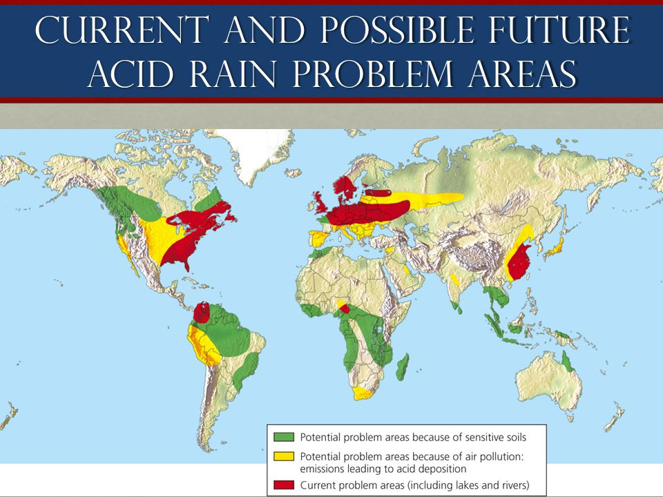 current research on acid rain Log in acid rain what do we mean when we talk about acid rain in general, the term acid rain is used for precipitation which has a ph of less than about 5.