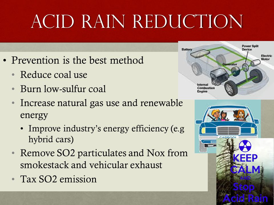 Acid rain causes effects and prevention