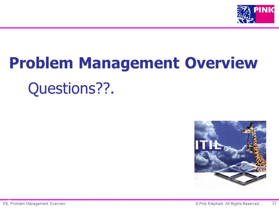 Problem Management Overview Ppt Video Online Download