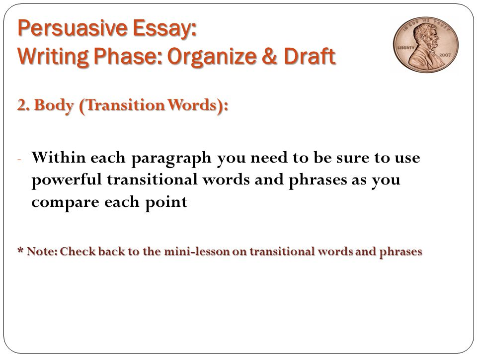 perssuassive essay Opinion essay or persuasive essay smrt english this video is on how to write a successful persuasive, opinion-based academic essay in english.