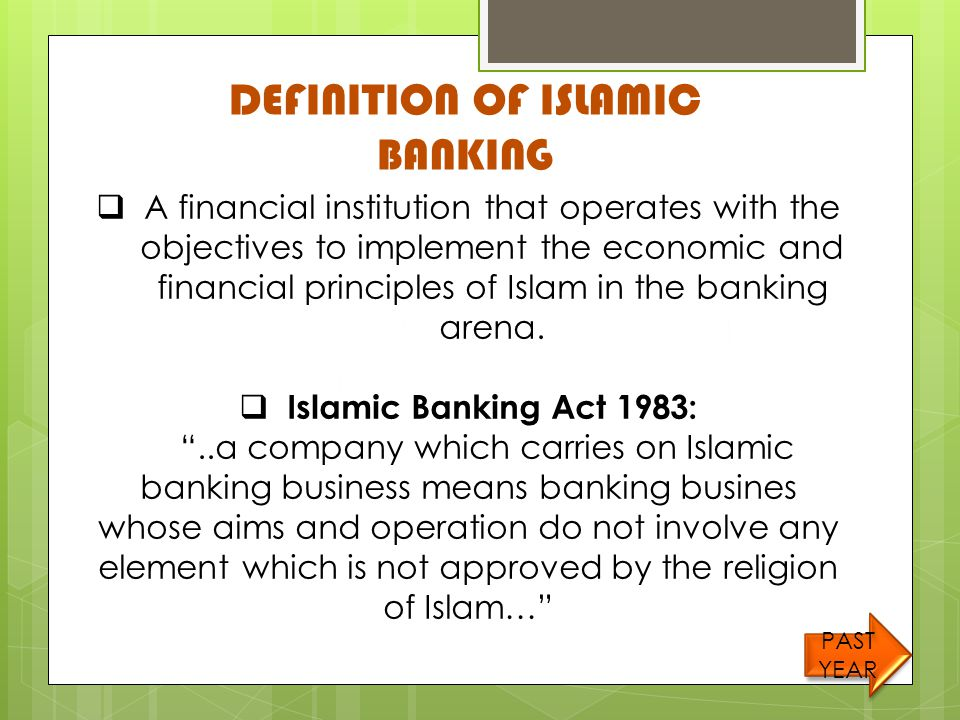 Definition of islamic economic