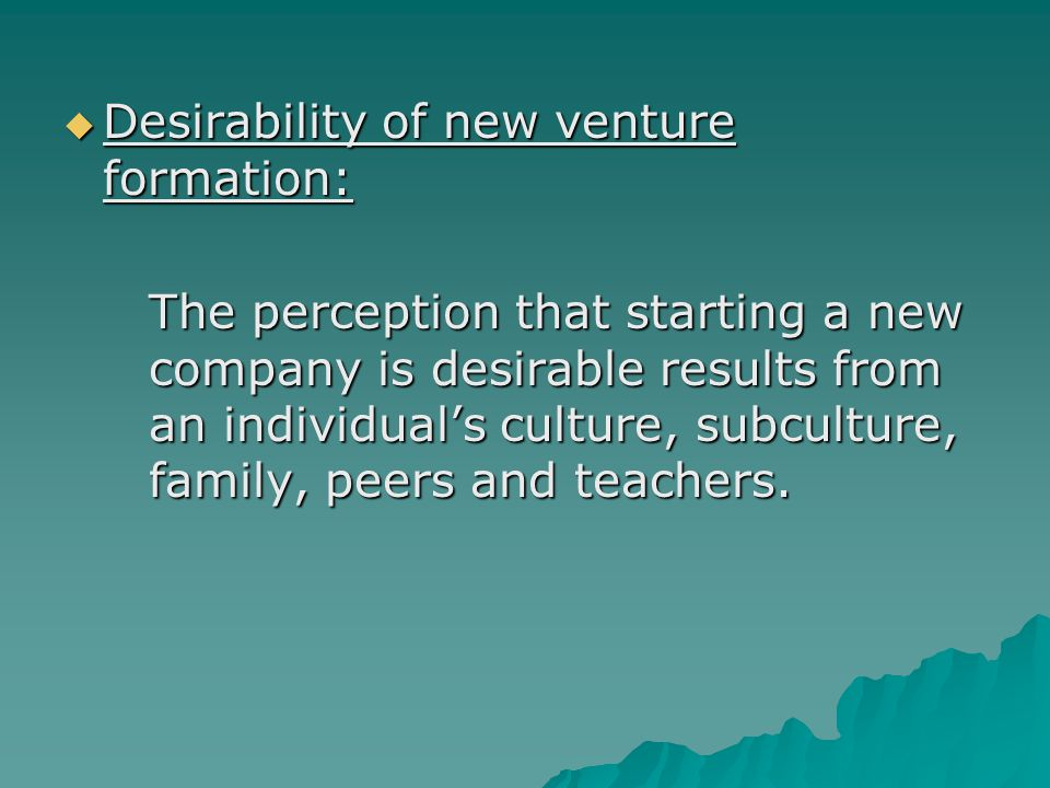 desirability in new ventures What factors you need to consider when choosing a source of finance in  financing through issuing new shares can lead to a.