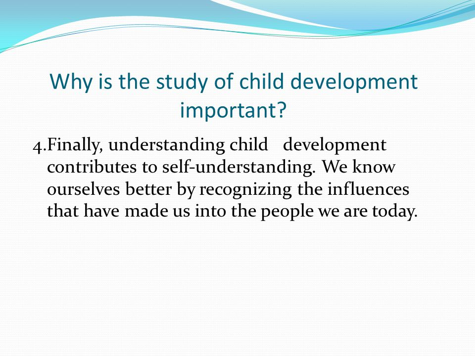 importance of self study A set of skills which can be learned and applied in self-directed learning with  in  part i, students were asked to indicate the most effective and/or important of.