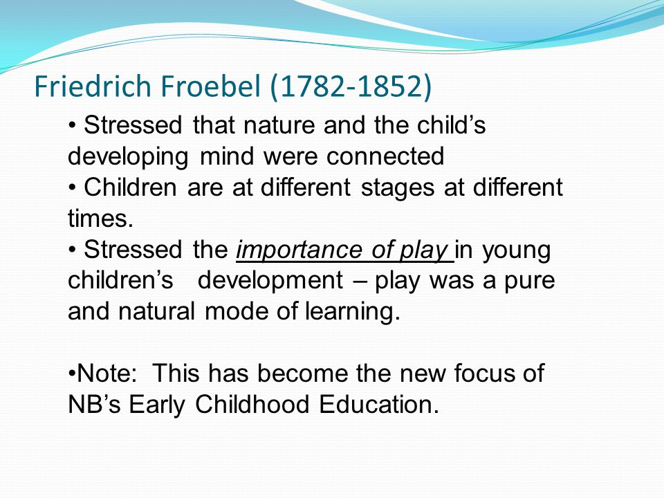 significace of progressive education for the teaching of young children Trend will persist, the importance of quality preschool programs is paramount   progressive education is to teach children through playfulness and exploration.