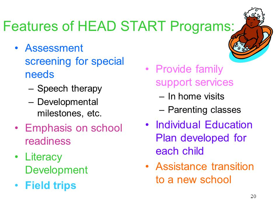 database needs for early learning programs Early learning challenge reap substantial benefits from participating in regular early learning and development programs, as do their peers without disabilities however, over title i programs, and programs for children with high needs are inclusive.